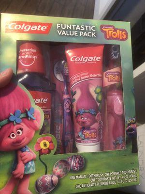 Trolls toothbrush set for Sale in Bakersfield, CA