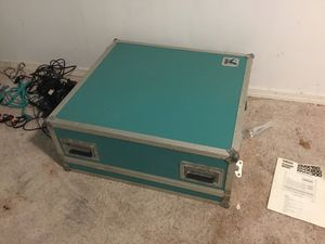 Flight case w/EMX200 mixer/amplifier for Sale in Port Ludlow, WA