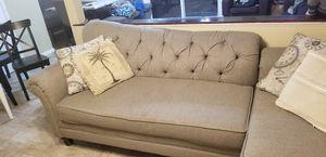 Beautiful gray love seat for Sale in Fairfax, VA