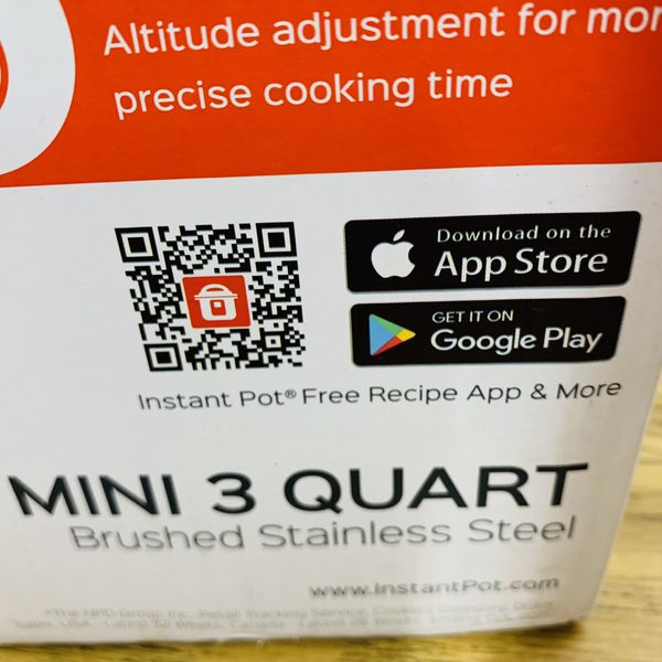 Instant pot ultra mini 3 quart