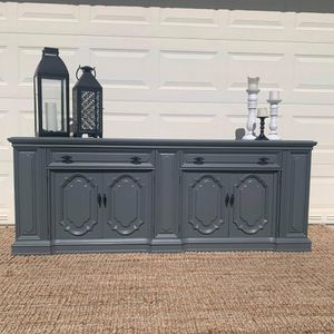 Dresser credenza buffet cabinet console tv stand accent piece bar vanity for Sale in Miami, FL