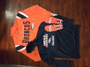 Denver Broncos His and Her Winter Apparel Package for Sale in Littleton, CO