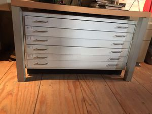 Wood & Mica Drawer 6 Drawers 45 3/4 Width 34 Depth 27 Height for Sale in Miami, FL