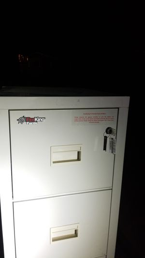 Fire king filing cabinet for Sale in Simpsonville, SC