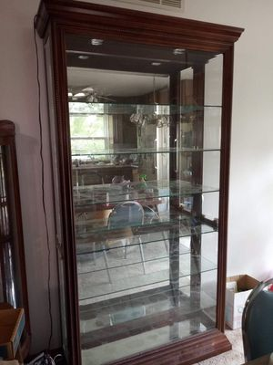 2 beautiful display cabinets for Sale in Wichita, KS