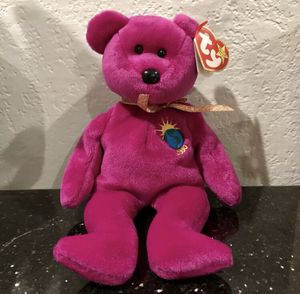 TY BEANIE BABY ORIGINAL MILLENNIUM THE BEAR - RETIRED, MINT w/TAGS for Sale in Houston, TX
