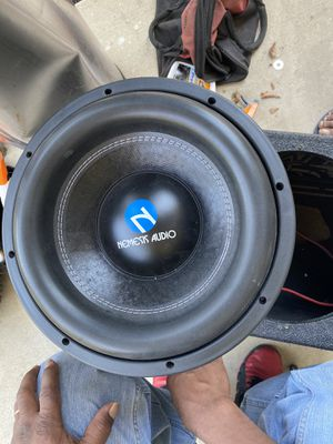 Nemesis audio 12 Hectic series subwoofer with nemesis 5k amplifier. for Sale in Dallas, TX