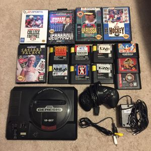 Sega Genesis With 14 Games for Sale in Austin, TX