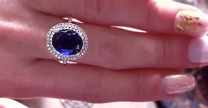 Beautiful blue Swarovski for Sale in Hammond, OR
