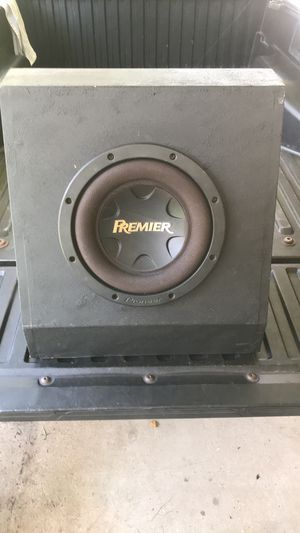 """Pioneer Premier® 12"""" SPL Component Subwoofer with 3000 Watts Max. Power for Sale in Pasadena, TX"""