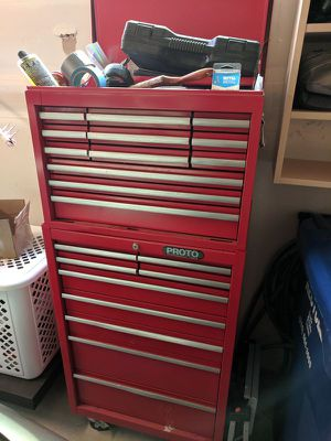 Proto toolbox with tools for Sale in Seattle, WA