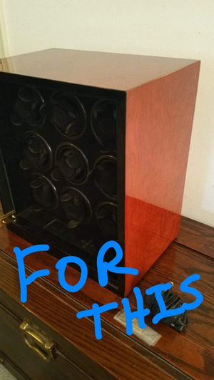 Like new 9 watch winder!. Best offer! Rare to find for 9 watches! for Sale in Deerfield Beach, FL