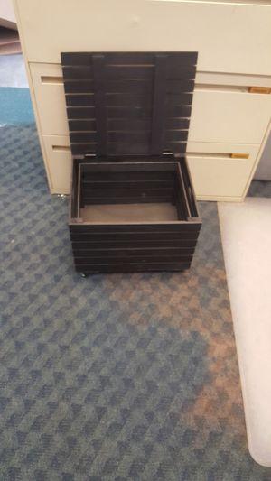 File cabinet/decorative storage box for Sale in Riverside, CA