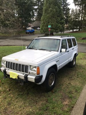 Parting out 1990 Jeep Cherokee xj for Sale in Lacey, WA