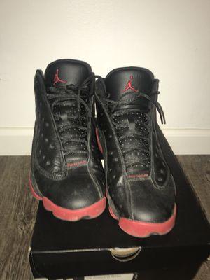 Nike men's Air Jordan retro 13 Gym red size 11 original box for Sale in College Park, MD
