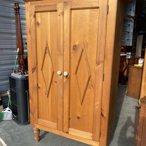 Big Pine Cabinet / Armoire for Sale in Holly Springs, NC