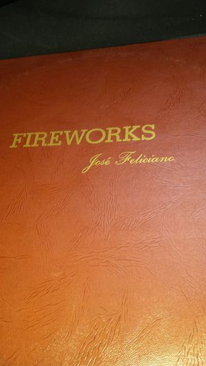 Fireworks Jose Feliciano Vintage Record for Sale in Fairfax, VA