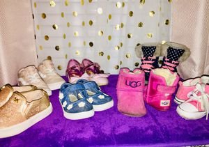 Baby to toddler shoe wear for Sale in Las Vegas, NV