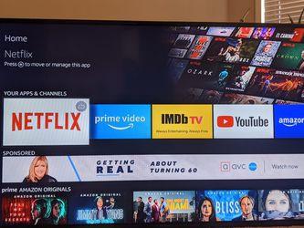 """Insignia 55"""" LED TV w/ Amazon Fire for Sale in Atlanta,  GA"""