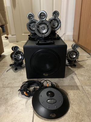 Klipsch ProMedia GMX D-5.1 subwoofer computer speaker set for Sale in Philadelphia, PA