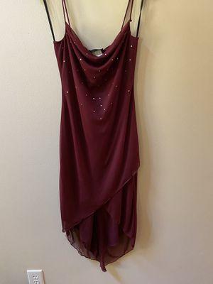 Size small Jodi Christopher burgundy cocktail dress for Sale in Dublin, GA