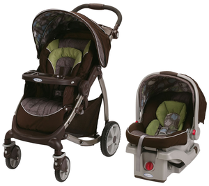 Graco stylus snugride infant stroller with car seat (pick up only) for Sale in Brooklyn, NY