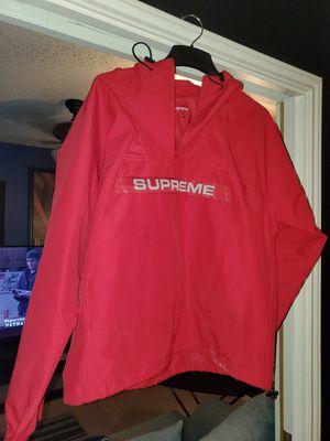 Supreme heavy anorak red FW19 medium for Sale in San Antonio, TX