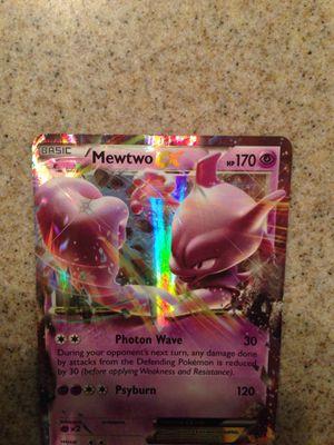 Pokemon Basic Mewtwo EX for Sale in Fresno, CA