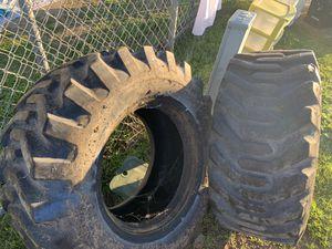 Skip loader Tires / Tractor Llantas for Sale in Winchester, CA