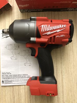 Milwaukee 1/2 impact wrench for Sale in Lowell, MA