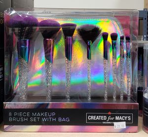 8 Piece Makeup Brush Set with Bag for Sale in Torrance, CA