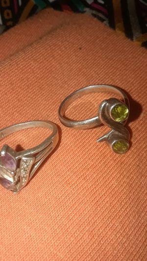 2 Silver 925 Rings for Sale in Eureka, CA