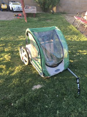 Bike trailer for kids toddlers ride on pull along wagon with hardware for Sale in Phoenix, AZ