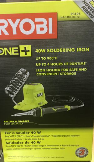18-Volt ONE+ 40-Watt Soldering Iron (Tool-Only) for Sale in Worcester, MA