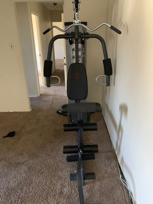 Marcy home weight system for Sale in Pittsburgh, PA