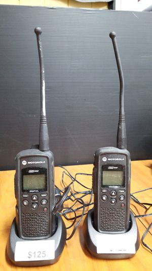 Motorola Digital Portable Two Way Radio, Model DTR550 with Charger, I have two $125 each for Sale in Los Angeles, CA