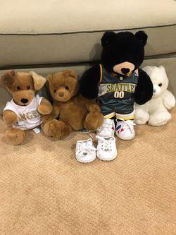 Build a bear stuffed animals for Sale in Bellevue,  WA