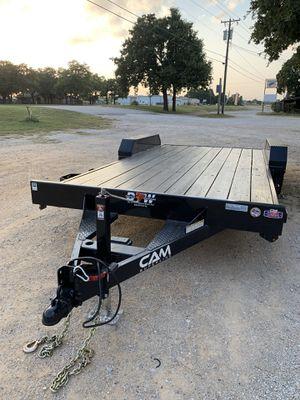 2018 two axle utility flat trailer for Sale in Keller, TX