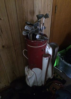 Vintage golf club and bag for Sale in Austin, TX