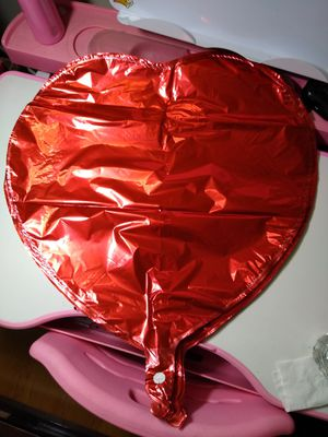 25pc Red Heart Foil Mylar Balloons 18 inch big size Balloons ~Brand new~ for Sale in Alhambra, CA