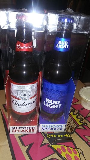 Bud Light, and Budweiser Bluetooth Speaker for Sale in San Diego, CA