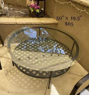 """Large outside table 50"""". $65 for Sale in Columbia, SC"""