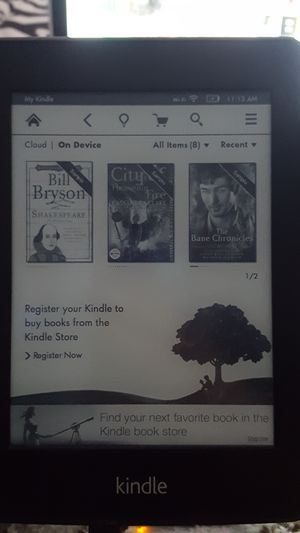 Amazon Kindle reading book for Sale in Tampa, FL
