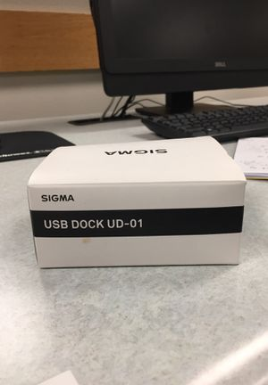 Sigma Camera Lens Nikon Mount USB Dock UD-01 NEW for Sale in Washington, DC