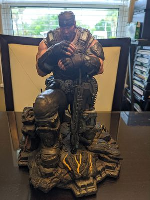 Marcus Fenix HUGE STATUE Figure Only Gears of War 3 (Epic Edition) Toy For Sale for Sale in Deltona, FL