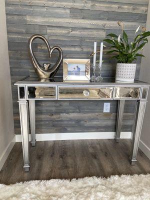 "Mirrored desk !!! 22"" D 30"" H 42"" W for Sale in Vancouver, WA"