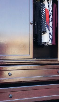 EXCELLENT CONDITION Extreme HEAVY SOLID WOOD Closet Armoire Wardrobe Cabinet Organizer + 1 Clothes Rod + 3 HUGE Sliding Drawers Dresser Unit Stand for Sale in East Los Angeles,  CA