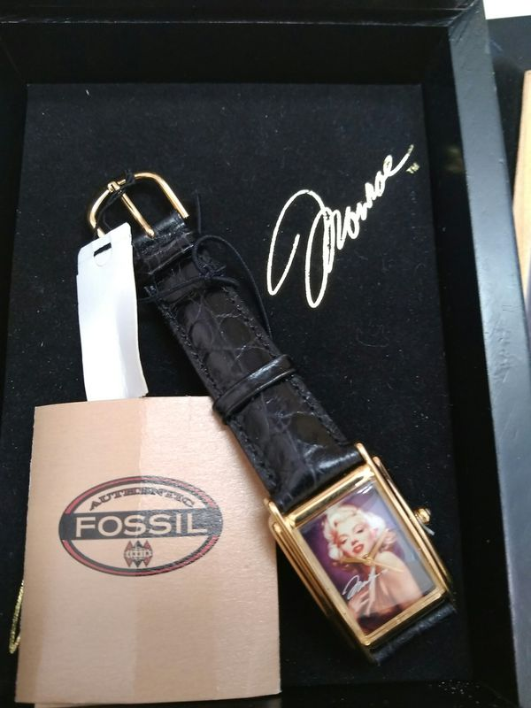 $99.99 - Limited Edition Marilyn Monroe Fossil Watch