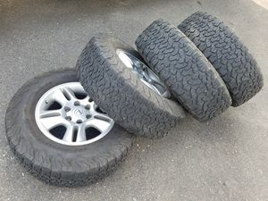 Toyota / Lexus SUV or Trucks wheels and tires BFG KO2 for Sale in Tacoma, WA
