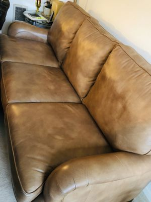 leather sofa ,chair and ottoman for Sale in Kirkland, WA